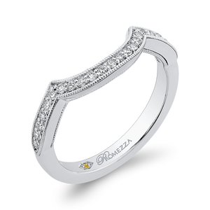 Half-Eternity Diamond  Wedding Band Promezza PR0245BH-44W-.50
