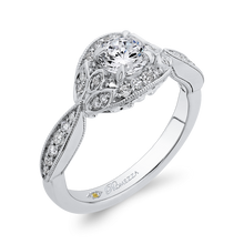 Load image into Gallery viewer, Round Diamond Engagement Ring Promezza PR0245ECH-44W-.50
