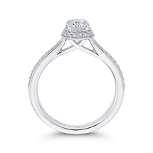 Load image into Gallery viewer, Round Diamond Engagement Ring Promezza PR0256ECH-44W-.50