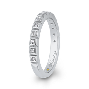 Diamond Wedding Band Promezza PR0259B-44W-.75