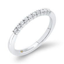 Load image into Gallery viewer, Half Eternity Diamond Wedding Band Promezza PR0262B-44W-.75