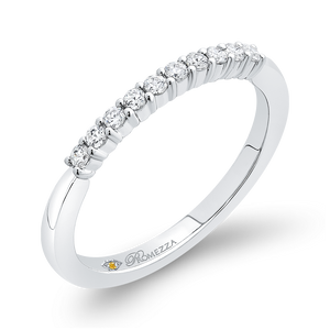 Half Eternity Diamond Wedding Band Promezza PR0262B-44W-.75
