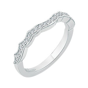 Winding Diamond Wedding Band Promezza PRO0107BH-44W-.50