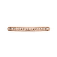 Load image into Gallery viewer, Rose Gold Wedding Band Promezza PRP0074B-P-.50