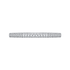 Half-Eternity Diamond Wedding Band Promezza PRU0070B-44W