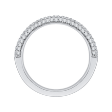 Load image into Gallery viewer, Half-Eternity Diamond Wedding Band Promezza PRU0070B-44W