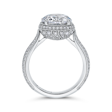 Load image into Gallery viewer, Diamond Engagement Ring Carizza Boutique QR0065EQK-40W-3.00
