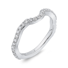 Load image into Gallery viewer, Diamond Wedding Band Carizza Boutique QR0069BQK-40W-3.00