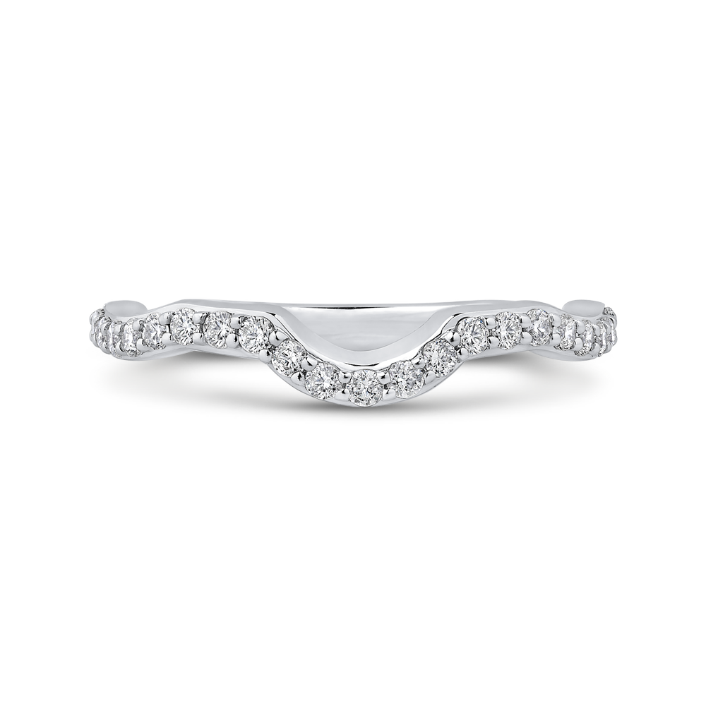 Diamond Wedding Band Carizza Boutique QR0069BQK-40W-3.00