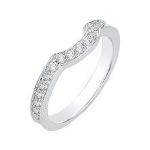 Load image into Gallery viewer, Twisted Round Wedding Band Carizza Boutique QRU0037BK-40W