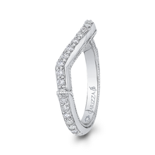 Load image into Gallery viewer, Twisted Diamond Wedding Band Carizza Boutique QRU0062BK-40W-4.00