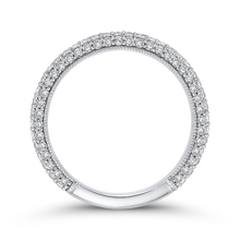 Load image into Gallery viewer, Diamond Wedding Band Carizza Boutique QRU0063BK-40W