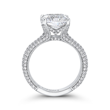 Load image into Gallery viewer, Split Shank Cushion Diamond Engagement Ring Carizza Boutique QRU0063EK-40W