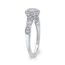 Load image into Gallery viewer, Diamond Halo Fashion Ring Luminous RF0959T-42W