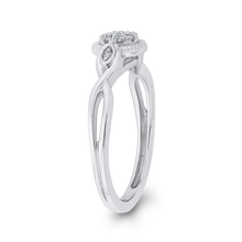 Load image into Gallery viewer, Crossover Shank Diamond Fashion Ring Luminous RF0967T-42W