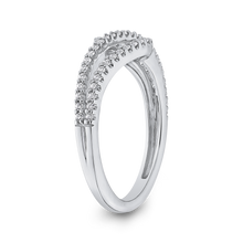 Load image into Gallery viewer, White Diamond Fashion Ring Luminous RF1114T-42W