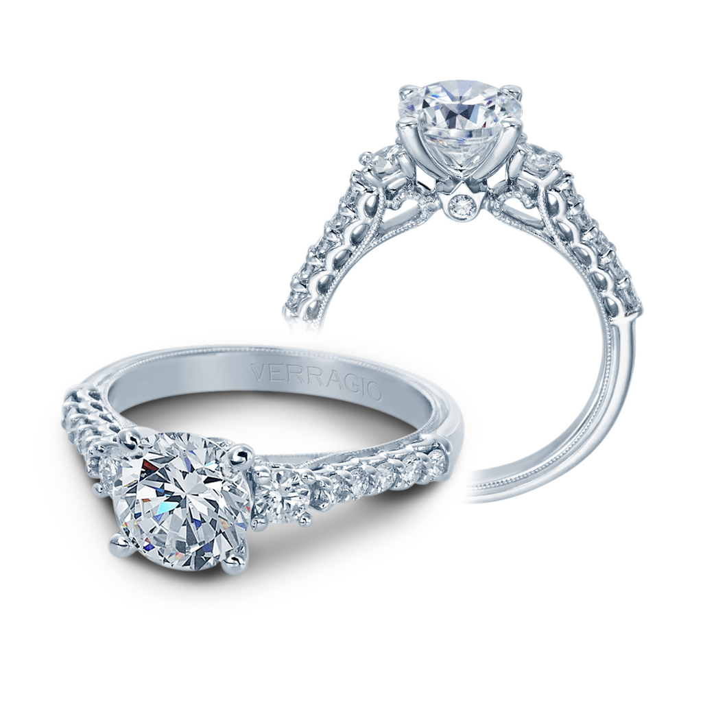 Verragio Classic Collection – V-905-R7 Style Diamond Engagement Mounting Ring 0.50TW