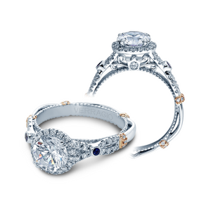 Verragio Parisian Halo Engagement Ring CLDL109R