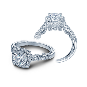 Verragio Halo Pave Diamond Engagement Ring INS-7078CU