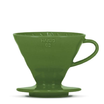 "Hario V60 ""Colour Edition"" dark green - BLACK HEN Rösthandwerk"