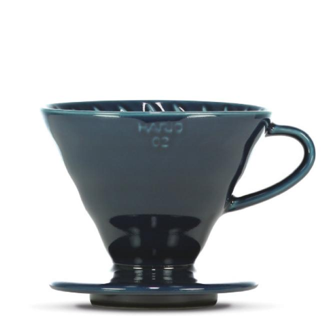 "Hario V60 ""Colour Edition"" indigo blue - BLACK HEN Rösthandwerk"
