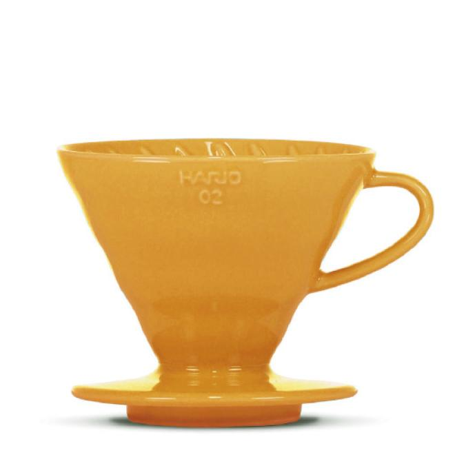 "Hario V60 ""Colour Edition"" orange - BLACK HEN Rösthandwerk"