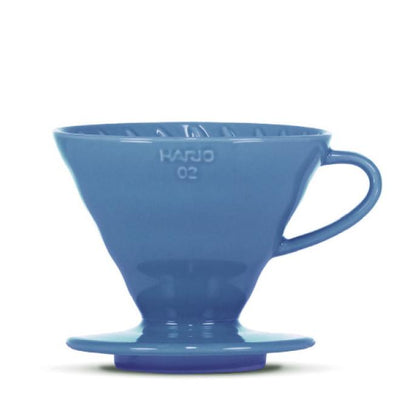 "Hario V60 ""Colour Edition"" turquoise blue - BLACK HEN Rösthandwerk"