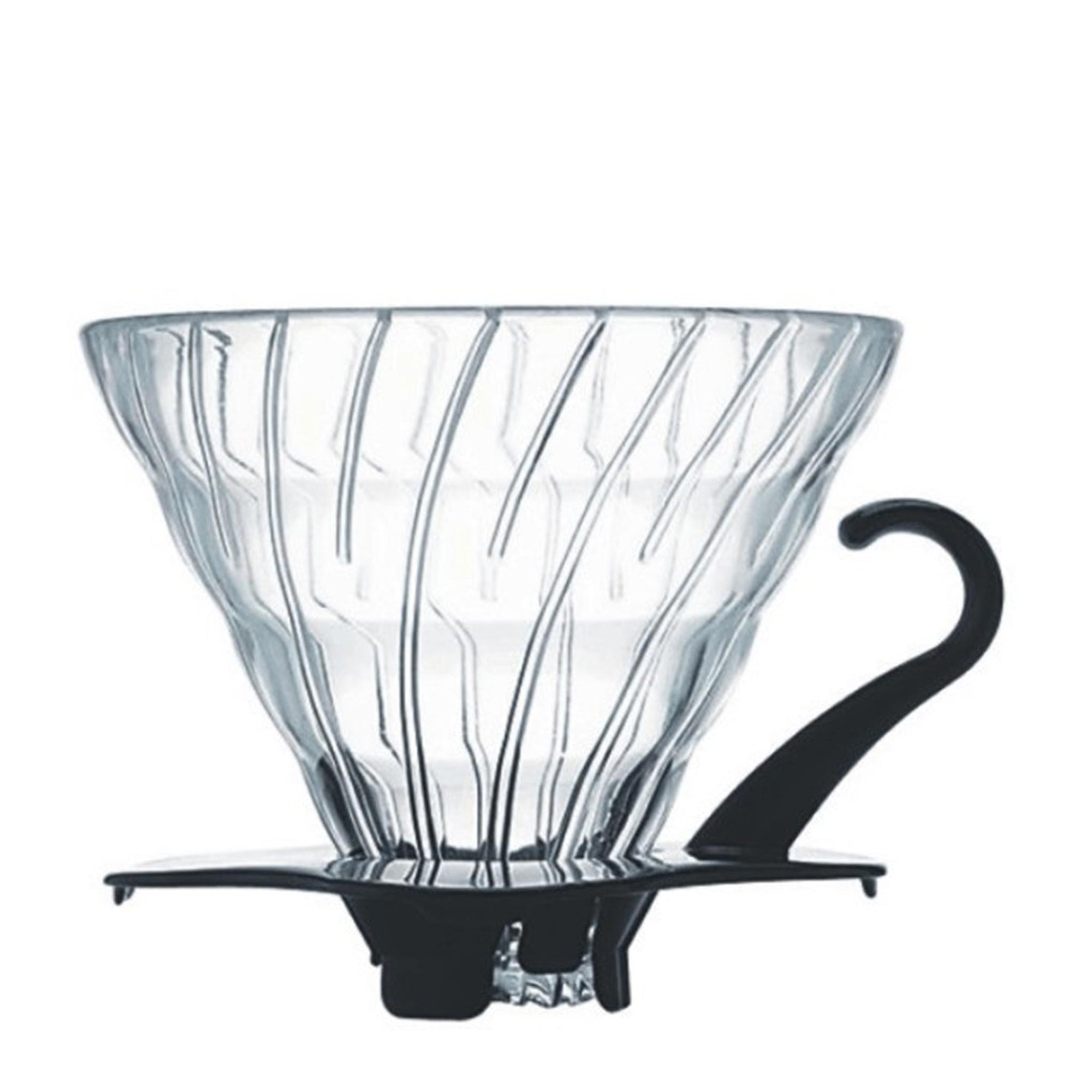 Hario V60 02 Glass Coffee Dripper - BLACK HEN Rösthandwerk