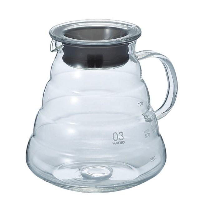 Hario V60 Range Server 600ml Clear - BLACK HEN Rösthandwerk