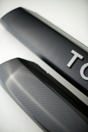 T4R Carbon Front Valence/Garnish Kit (2014-2019)