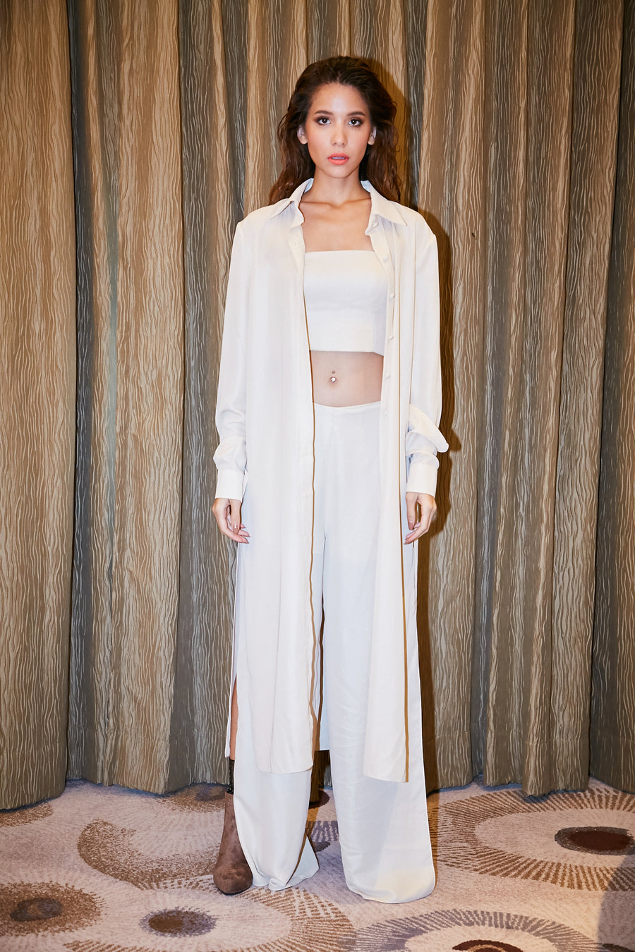 Creamy Top/Pants/Robe