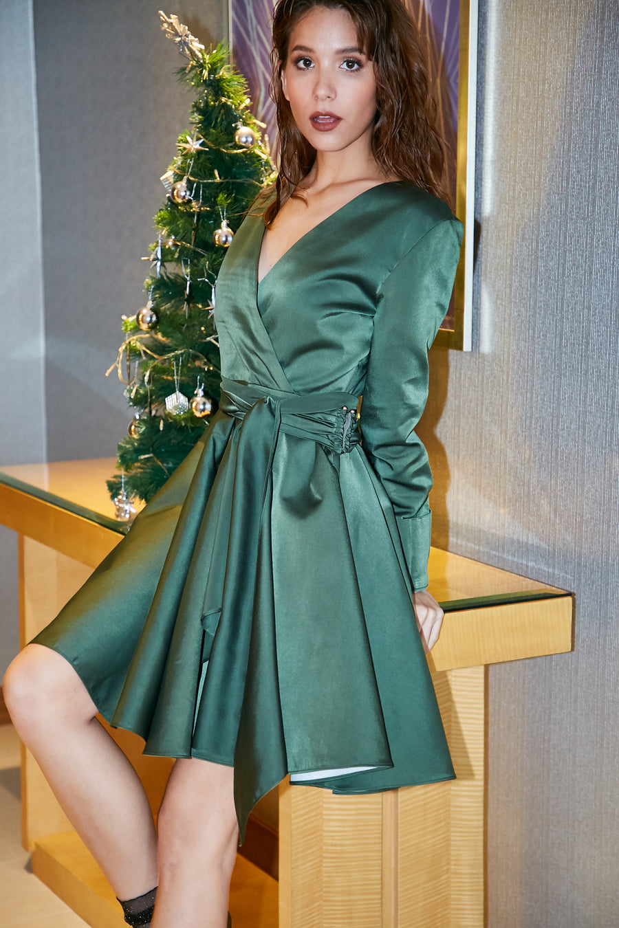 Green Apple Dress