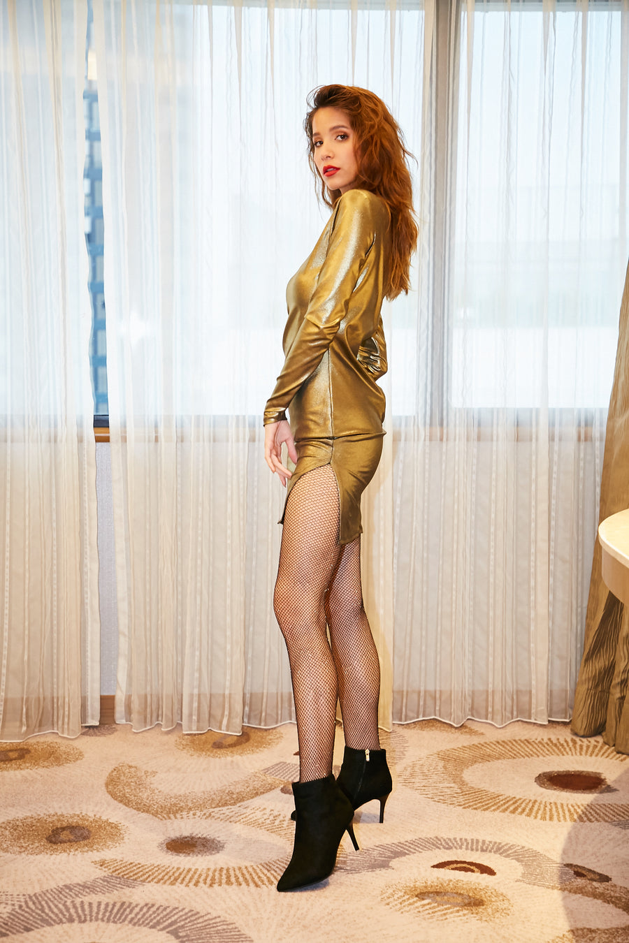 Metallic Dress