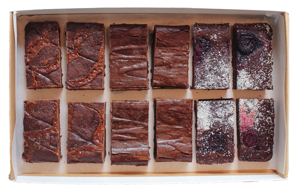 Mixed Flavour Letterbox Brownies
