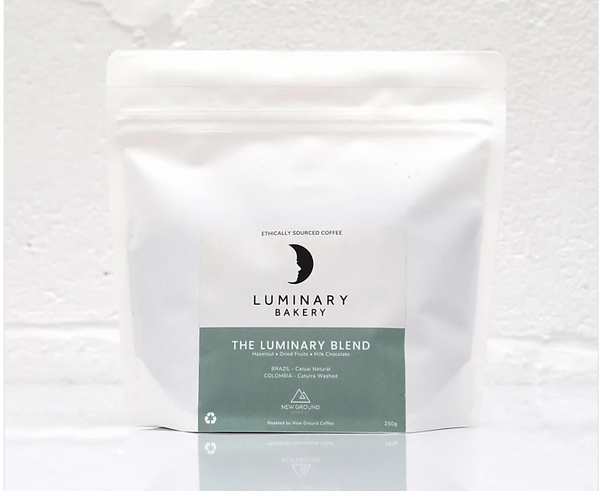 Luminary Coffee Beans (New Ground Coffee) 250 g