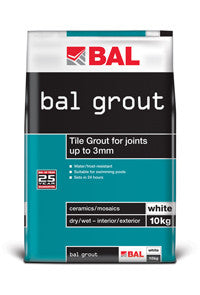 BAL Wall Grout - White