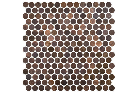 Copper Penny Mosaic Tiles
