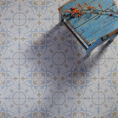 Paix setting parisian cafe floor tiles