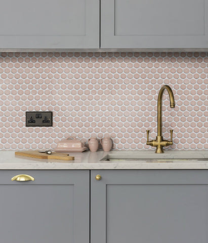Penny Mosaic Pink