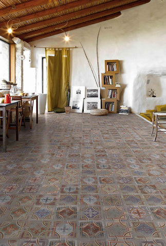 Alhambra 20 x 20cm patterned floor and wall tile
