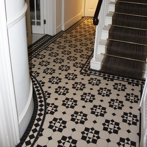 Little Tile Company Victorian Floor Tiles Patterned Floor Tiles