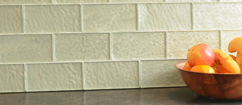 Tahitian Glass Tiles - 75 x 150mm