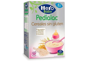 Hero Pedialac Cereales sin gluten - PequeStyle