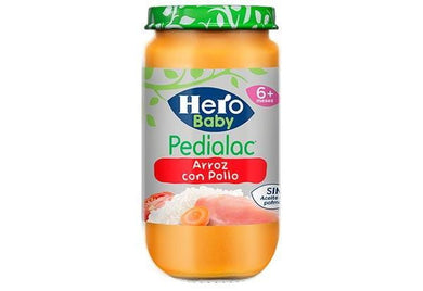 Hero Pedialac Potito Arroz con Pollo