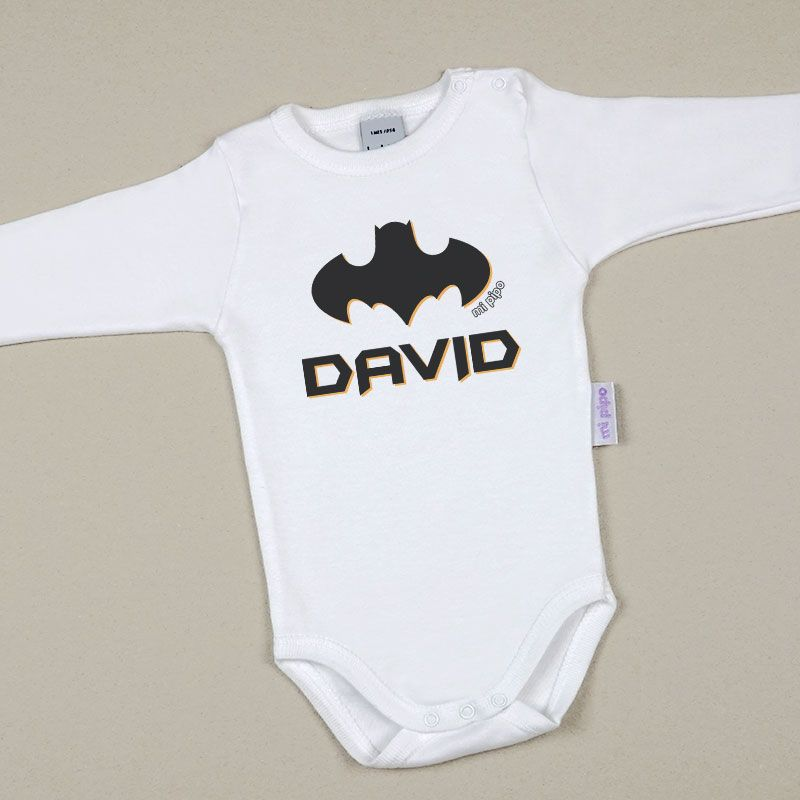 Body Babidu Personalizado Batman - PequeStyle