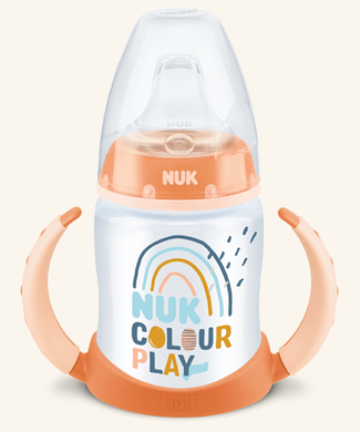Nuk Biberón Entrena FC+ PP 150 ml Colour Play Silicona 6-18m