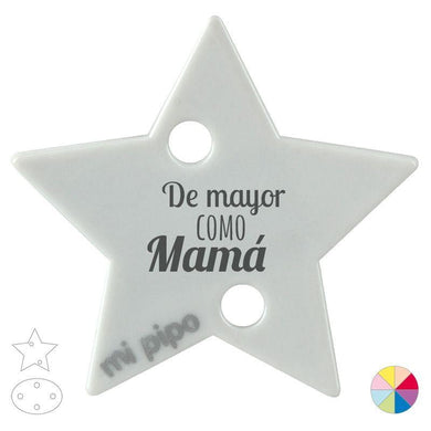Broche Pinza De Mayor como Mamá - PequeStyle