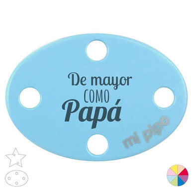 Broche Pinza De Mayor como Papá - PequeStyle