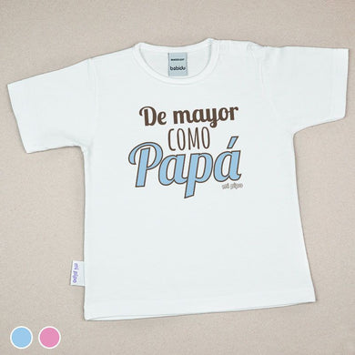 Camiseta Divertida Bebé De mayor como Papá