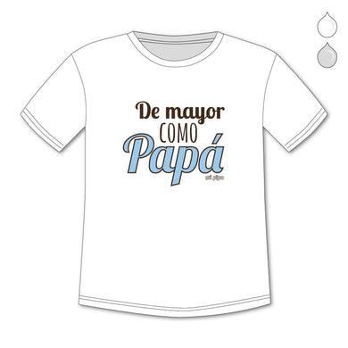 Camiseta Divertida Niño De mayor como Papá